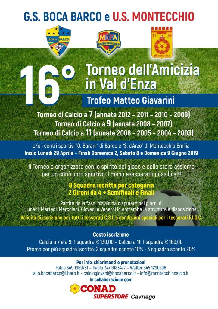 Calendario Torneo A 7 Squadre.16 Torneo Dell Amicizia In Val D Enza